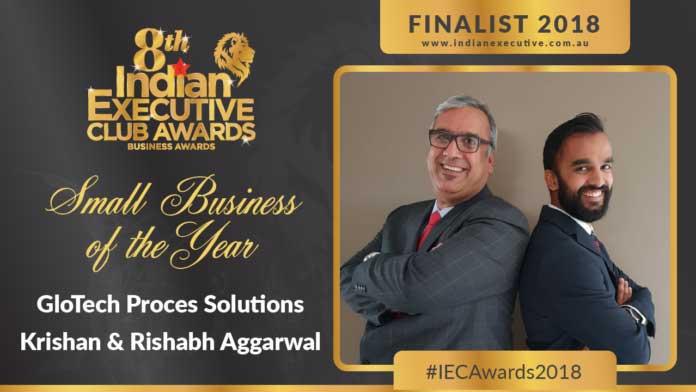 """"""" 2018 IEC Small Business Awards Finalist - GloTech Process Solutions """""""